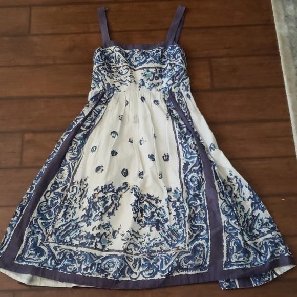 Anthropologie Dresses & Skirts - Anthropologie blue dress
